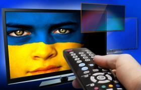 За недотримання мовних квот штраф для телеканалів в сумі складатиме від 400 тисяч гривень (колаж РБК-Україна)