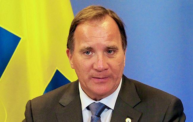 Фото: прем'єр-міністр Швеції Стефан Левен (tvnewsroom.consilium.europa.eu)