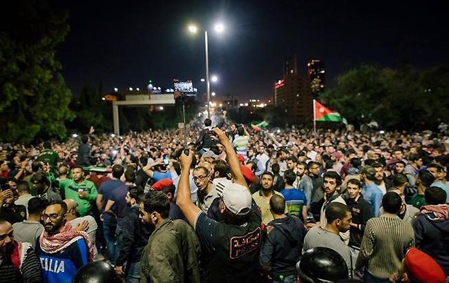 В Иордании полиция задержала 60 протестующих против роста тарифов