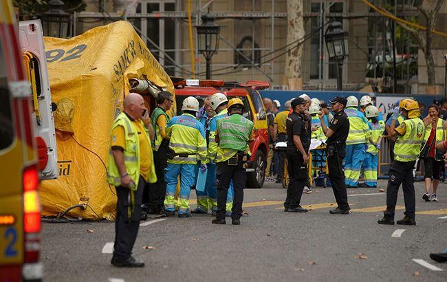 В Мадриде при обрушении в отеле Ritz погиб человек, еще 11 пострадали