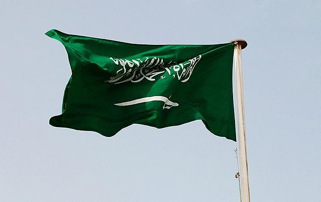 Фото: флаг Саудовской Аравии (twitter.com/bnhamzh)