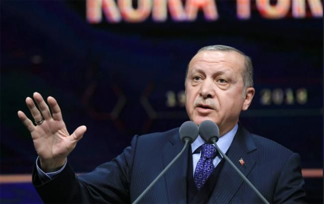 Эрдоган побеждает на президентских выборах, - экзит-полл