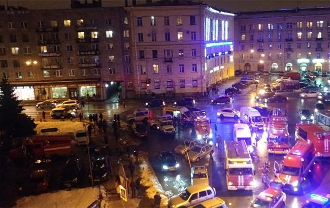 В Петербурге произошел взрыв, есть пострадавшие