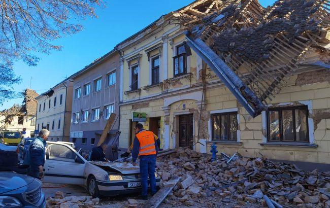 В Хорватии новое землетрясение, часть столицы осталась без света