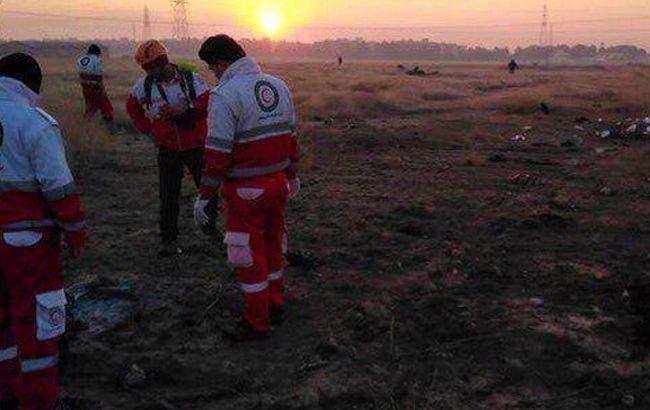 В Ірані заявили про неможливість впізнати жертв авіакатастрофи