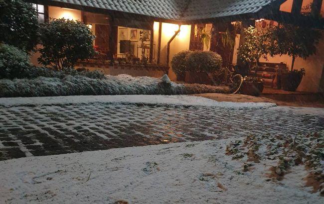 Аномальная погода: в Бразилии выпал снег, а температура побила 65-летний рекорд