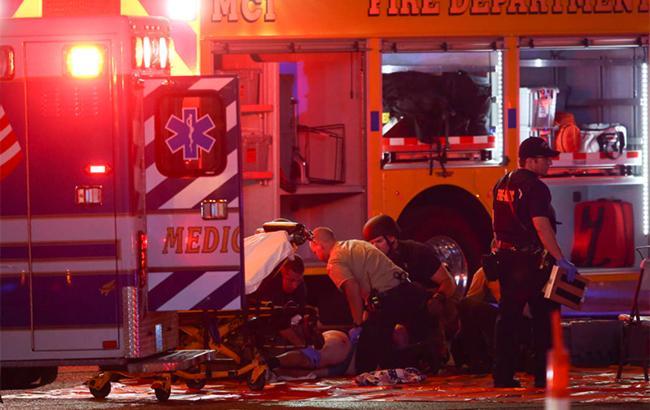 Неизвестный открыл стрельбу вЛас-Вегасе: неменее 20 пострадавших, 2 человека погибли