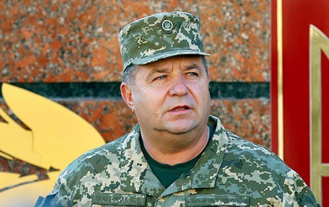 Полторак: ВСУ готовы клюбому развитию ситуации вЛуганске