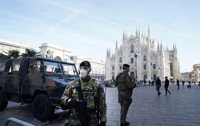 Число жертв коронавірусу в Італії зросло майже до 200