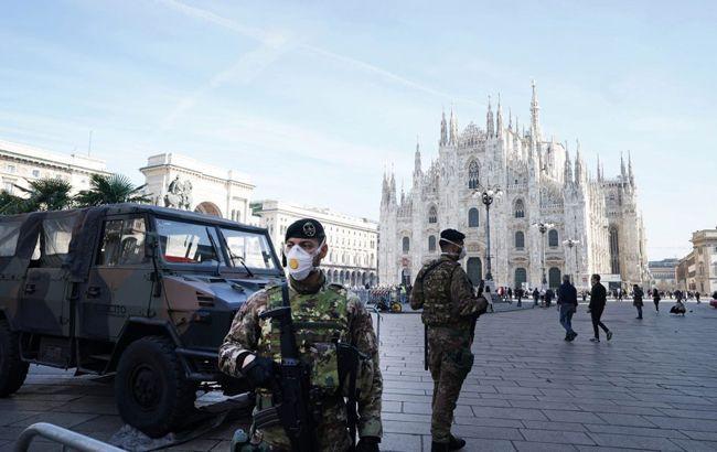 В Італії вводять більш жорсткий карантин, зупиняють будівництва та підприємства
