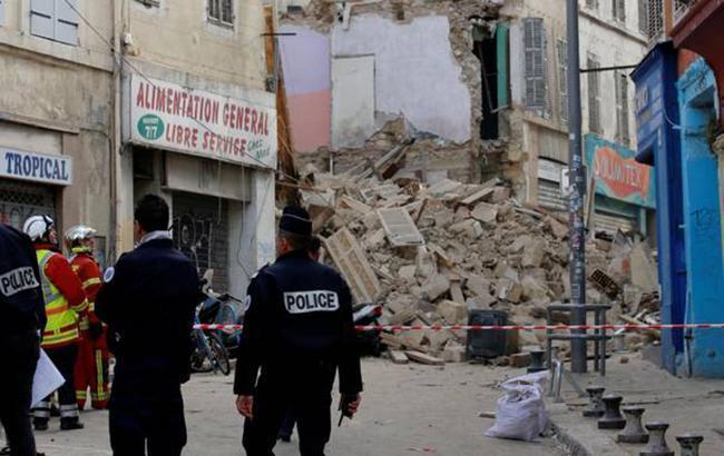 При обваленні будинків у Марселі загинули дві людини