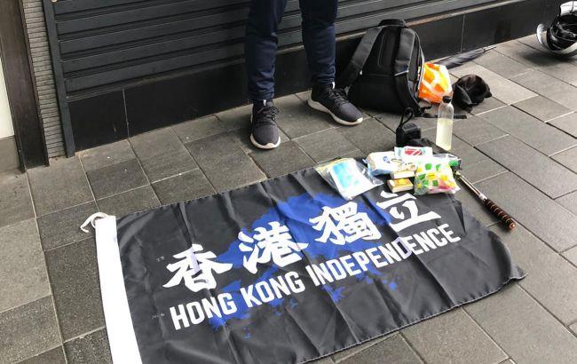 В Гонконге арестовали первого нарушителя закона о нацбезопасности