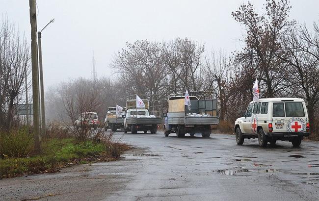 Червоний Хрест направив на Донбас черговий гуманітарний вантаж