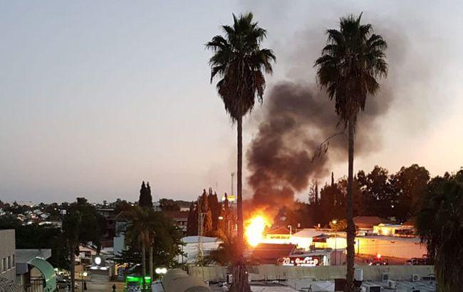 Ізраїль почав удари по сектору Газа у відповідь на ракетний обстріл