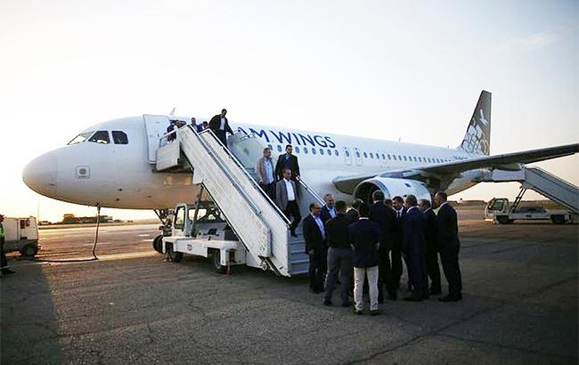 Сирийская авиакомпания нарушила запрет на полеты в Крым (twitter.comJetClassic)