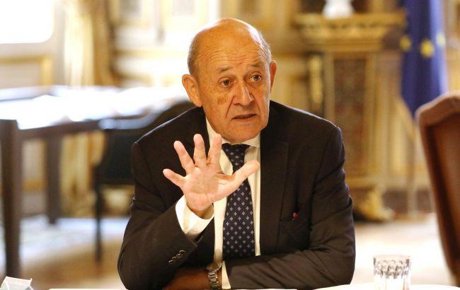Условия для приема Украины в НАТО пока не сложились, - глава МИД Франции