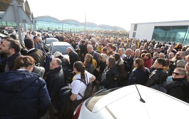 В Испании эвакуируют аэропорт из-за масштабного пожара