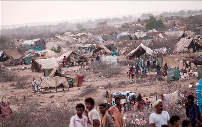 Фото: війна в Ємені (twitter.com/MSF)