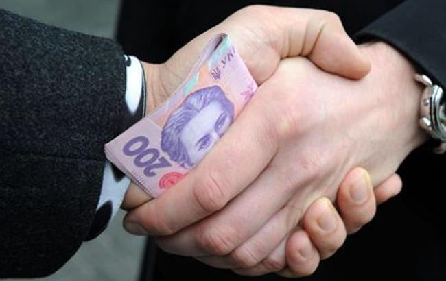 Фото: вымогательство денег (twitter.com/nab_ukr)