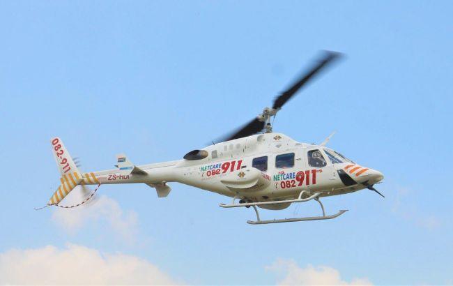 У ПАР внаслідок падіння медичного вертольота загинули п'ятеро людей