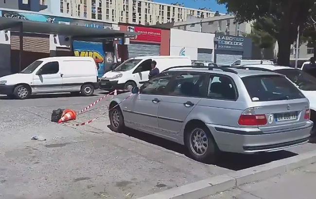 Фото: стрельба во Франции (twitter.com/RDEHULLESSEN)