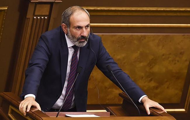 Фото: Нікол Пашинян (twitter.com sputnik_armenia)