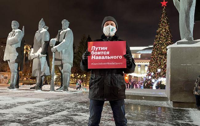 Протесты в -50, стрельба и столкновения: что происходит на акциях за Навального