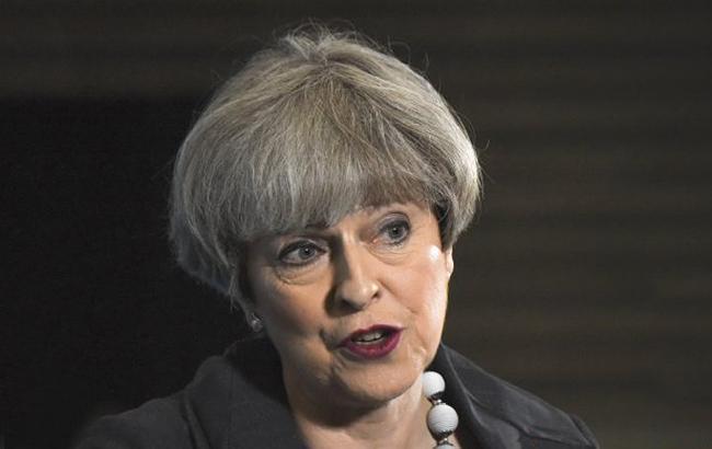 Фото: Тереза Мей, премьер-министр Великобритании (twitter.com/theresa_may)
