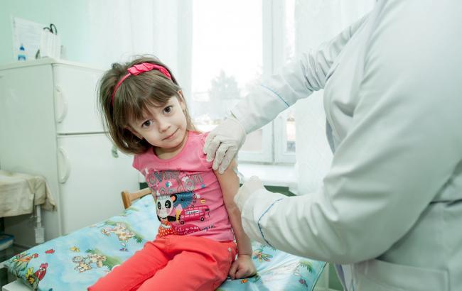 Вакцинация (фото: twitter.com/UNICEF_UA)