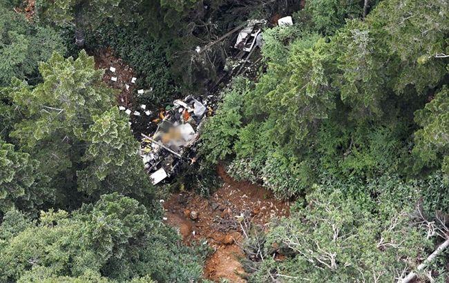 В горах Японии разбился спасательный вертолет с девятью людьми на борту