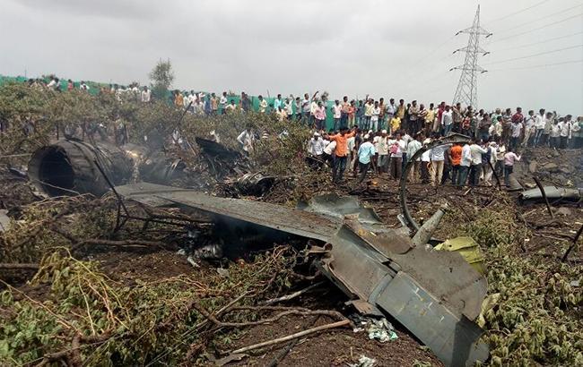 В Индии разбился истребитель Су-30