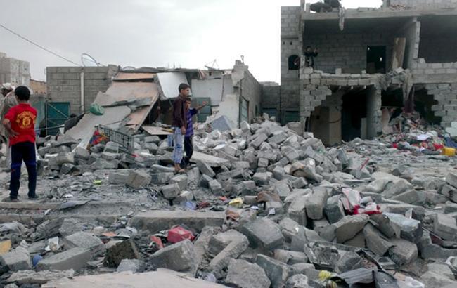 Фото: разрушенное здание (twitter.com/TheLens)