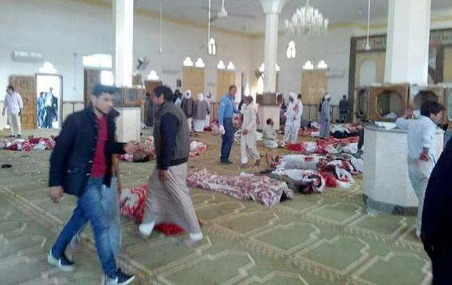 В Египте беспилотники уничтожили 15 причастных к теракту боевиков
