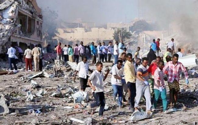 Фото: теракт в Сомали (twitter EngDigalle)