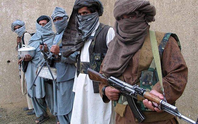 Фото: боевики в Афганистане