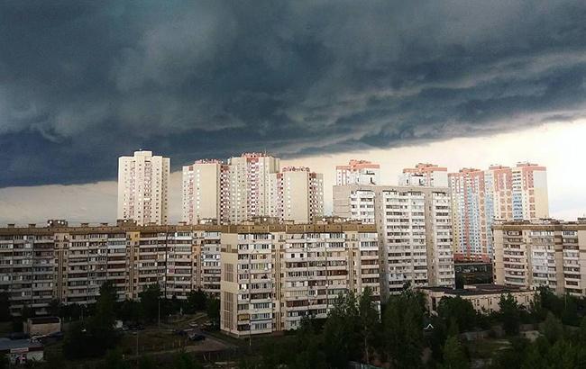В Киеве 12 июня ожидается гроза