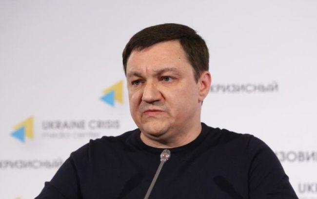 """Фото: лідер гурту """"Інформаційний опір"""" Дмитро Тимчук"""