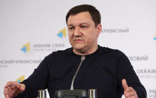 """Фото: лидер группы """"Информационное сопротивление"""" Дмитрий Тымчук"""