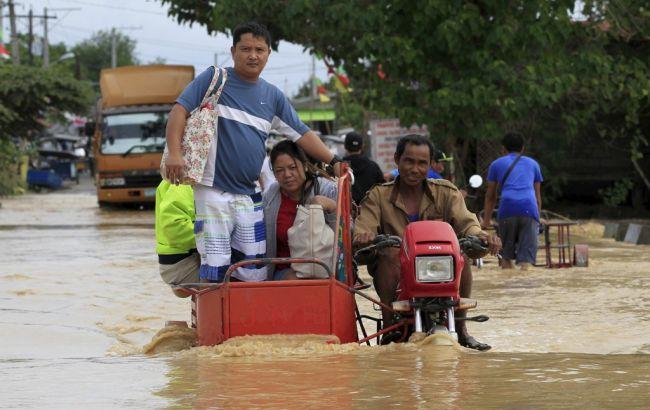 Фото: наводнение на Филиппиных