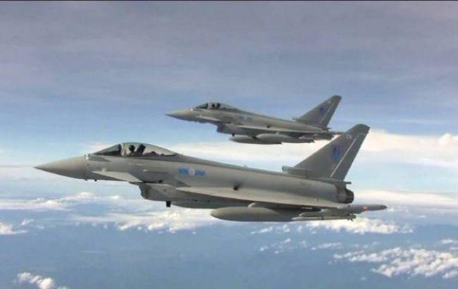 Британські винищувачі перехопили російські Су-30 над Балтійським морем