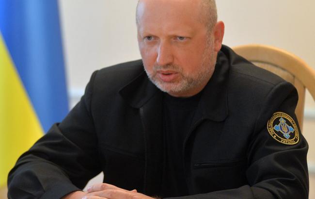 Фото: Генеральний секретар Ради національної безпеки і оборони Олександр Турчинов