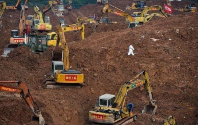 Фото: в результате оползня в Китае погибли более 73 человека