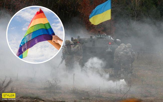 Усиление армии пришло откуда не ждали: представителей ЛГБТ зовут в ВСУ