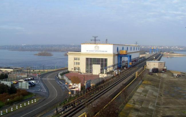 Фото: Каховская ГЭС