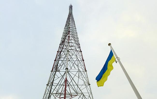 Фото: телевежа в Луганській області (U.S. Embassy Kyiv Ukraine)