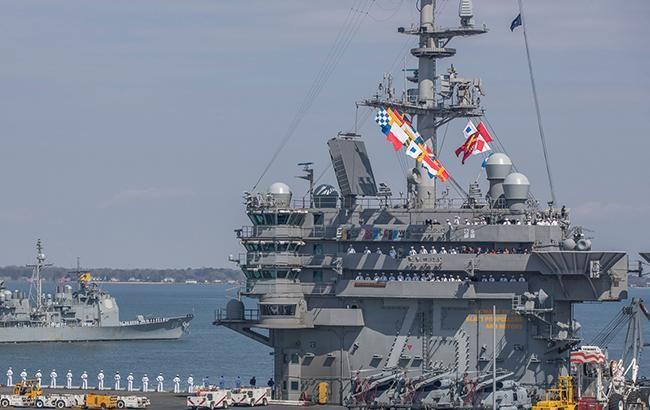 Ілюстративне фото: авіаносець USS Harry S. Truman (U. S. Navy)