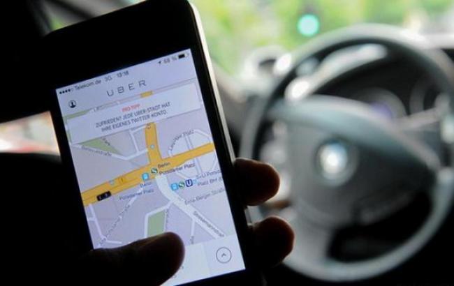 Фото: сервіс замовлення таксі Uber