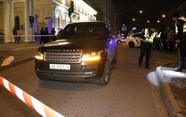 За рулем обстрелянного в Киеве автомобиля был депутат облсовета