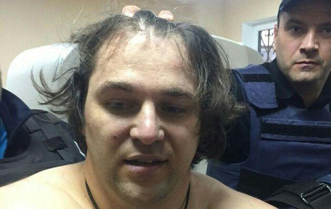 Фото: затриманий підозрюваний у розстрілі поліцейських у Дніпрі