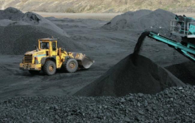 Видобуток вугілля в Україні в січні скоротився на 4,6%